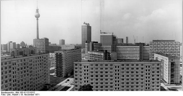 Berlin, Stadtzentrum, Plattenbauten, Fernsehturm